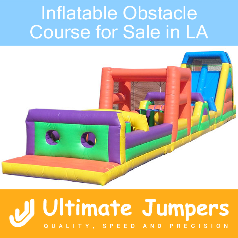 Inflatable Obstacle Course for Sale in LA