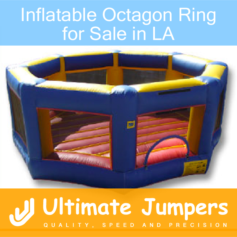 Inflatable Octagon Ring for Sale in LA