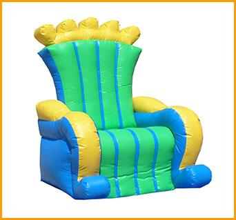 Inflatable Royal Chair