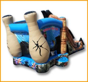 Inflatable Shipwreck Combo