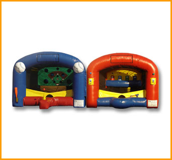Inflatable Sports Attraction Combo