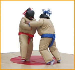 Inflatable Sumo Wrestling Suits