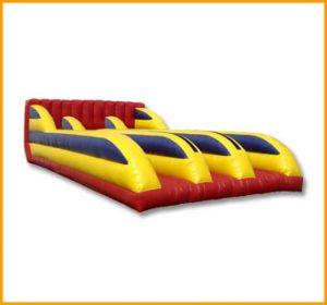 Inflatable Three Lane Bungee Run