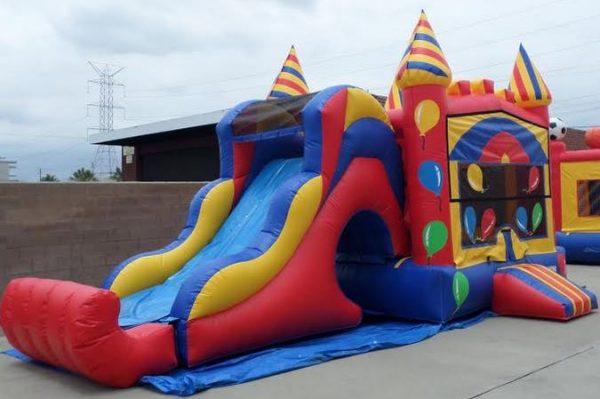 Inflatable Wet Dry Birthday Balloons Module Combo