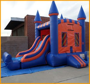 Inflatable Wet Dry Bouncer and Slide Combo