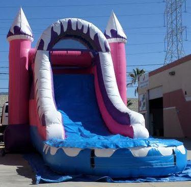 Inflatable Wet Dry Winter Wonderland Combo