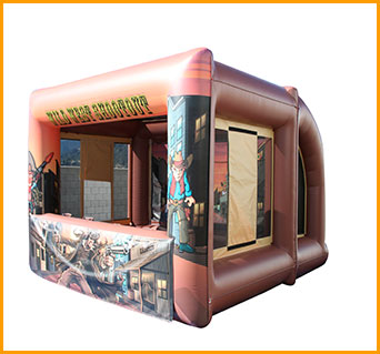 Inflatable Wild West Shooter