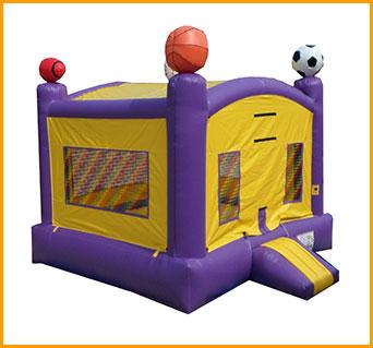 LSU Sports Inflatable Jumper