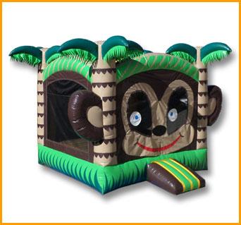 Monkey Inflatable Jumper