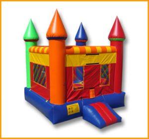 Multicolor Inflatable Castle Bouncer