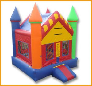 Multicolor Pointed Roof Castle Jumper