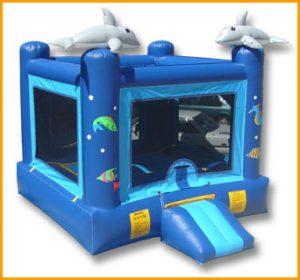 Ocean Inflatable Jumper