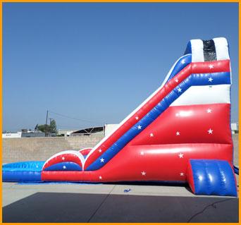 Patriotic Water Slide