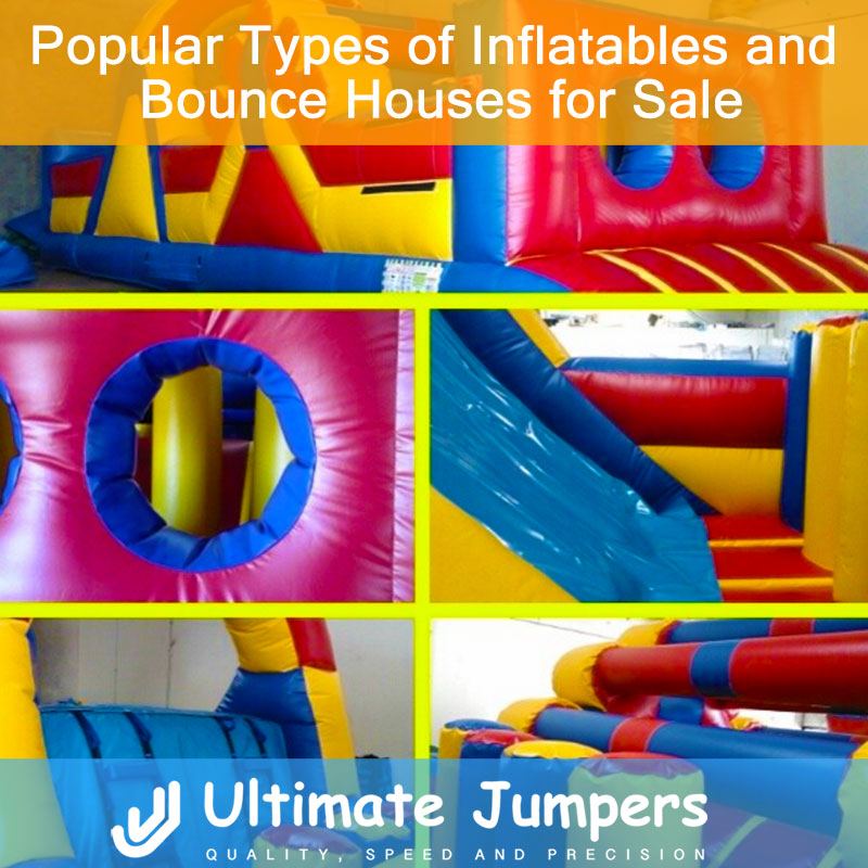 Popular Types of Inflatables and Bounce Houses for Sale