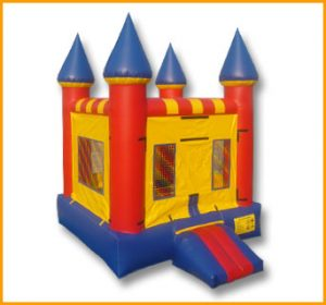 Primary Colors Indoor Castle Jumper