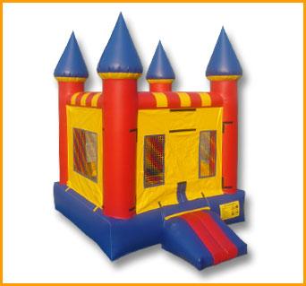 Primary Colors Indoor Castle Jumper