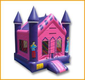 Princess Castle Moon Jump