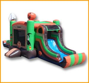 Spooky Town Bouncer Slide Combo