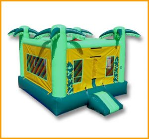 Tropical Inflatable Jumper