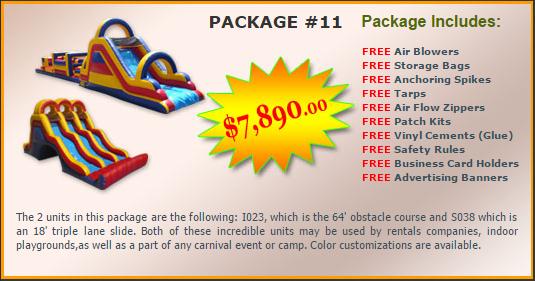 Ultimate Jumpers Bounce Slide Package Deal 11