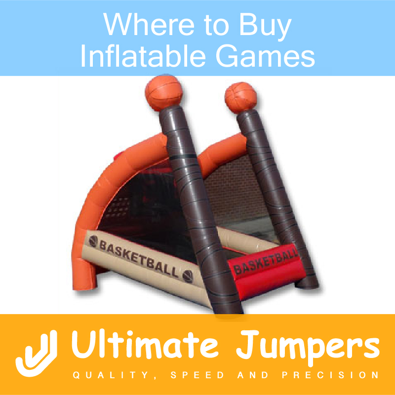 Where to Buy Inflatable Games