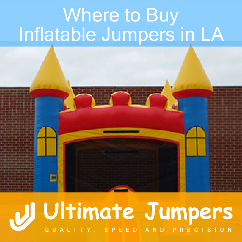 Where to Buy Inflatable Jumpers in LA