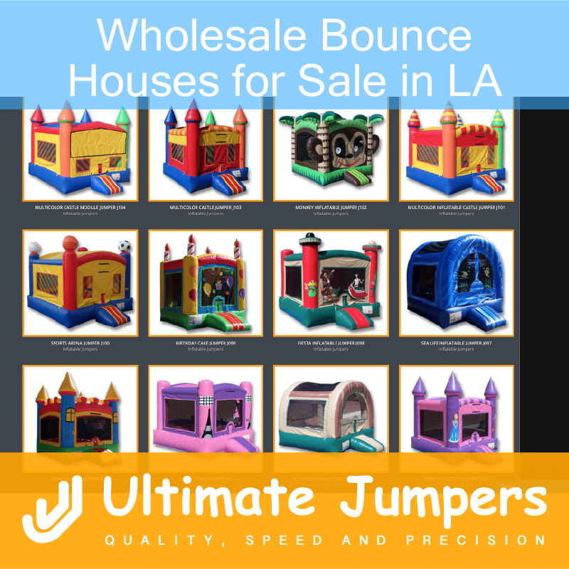 Wholesale Bounce Houses for Sale in LA