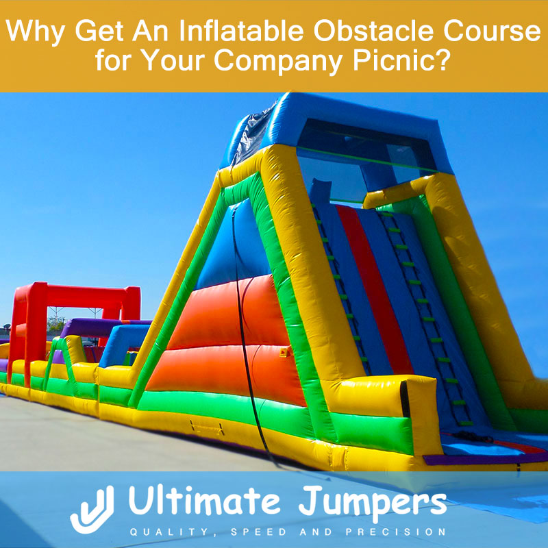Why Get An Inflatable Obstacle Course for Your Company Picnic?