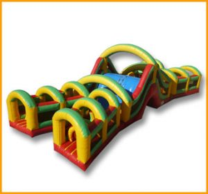 X Shaped Obstacle Course