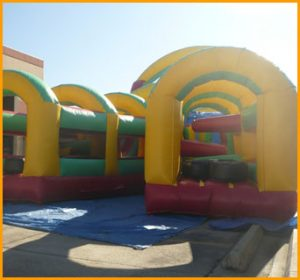 Y Shaped Obstacle Course